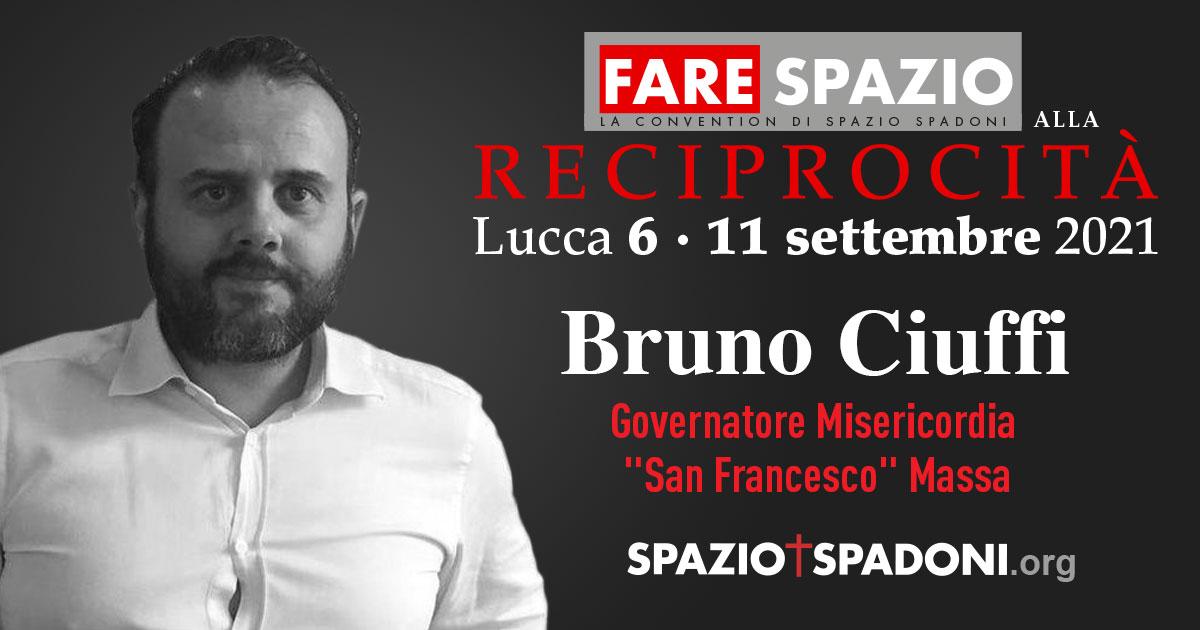 Bruno Ciuffi Fare Spazio alla Reciprocità