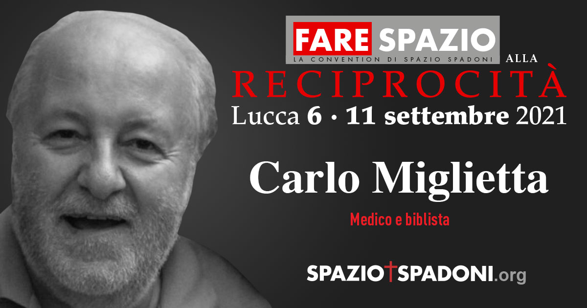 Carlo Miglietta Fare Spazio alla Reciprocità