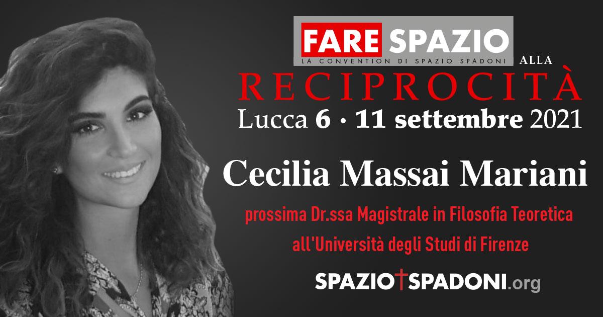 Cecilia Mariani Fare Spazio alla Reciprocità