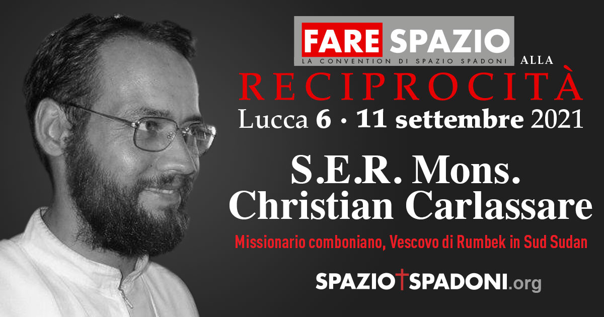 Christian Carlassare Fare Spazio alla Reciprocità