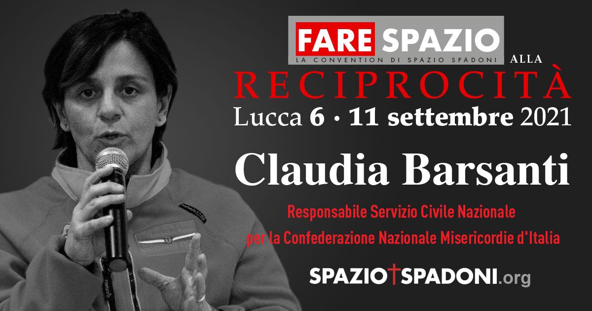 Claudia Barsanti Fare Spazio alla Reciprocità