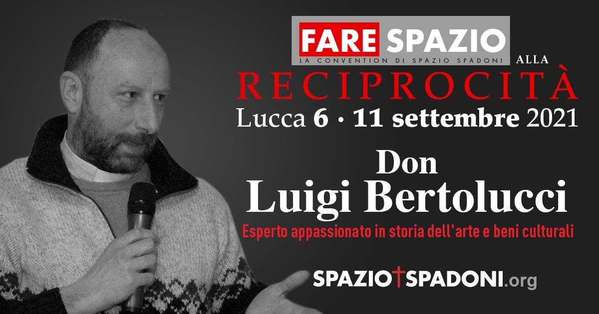 Luigi Bertolucci Fare Spazio alla Reciprocità