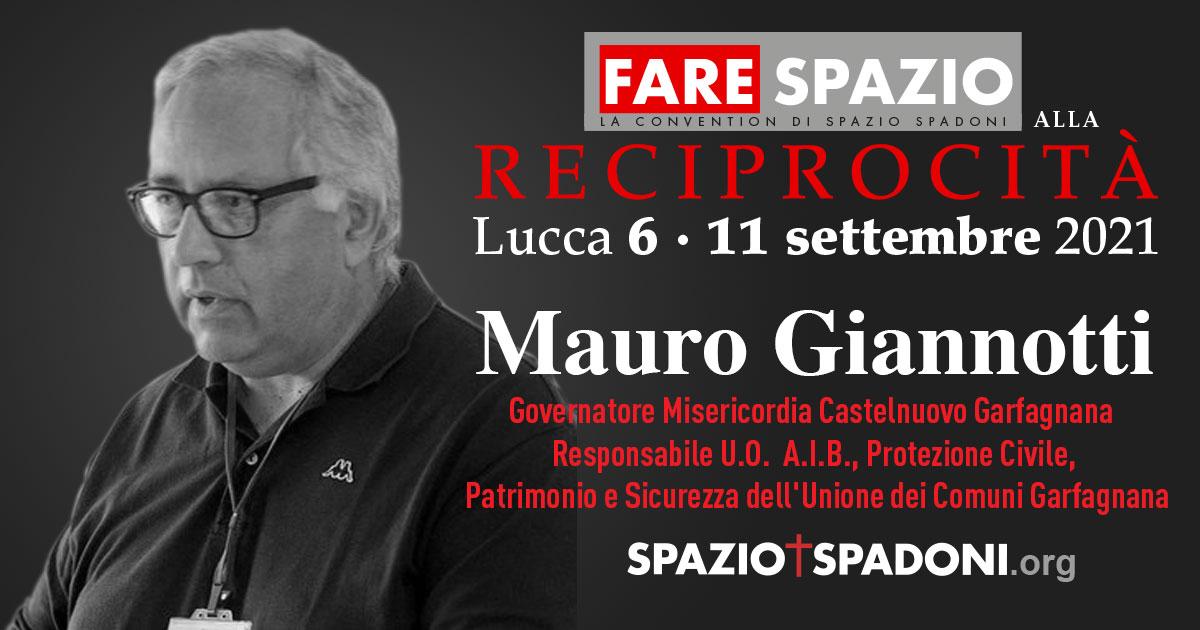 Mauro Giannotti Fare Spazio alla Reciprocità