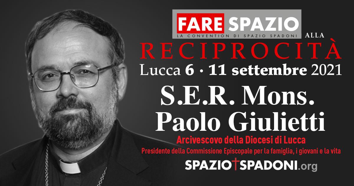 Paolo Giulietti Fare Spazio alla Reciprocità