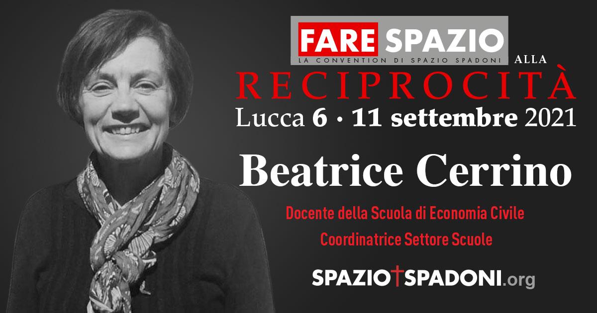 Beatrice Cerrino Fare Spazio alla Reciprocità