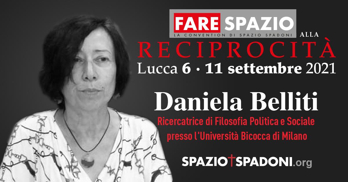 Daniela Belliti Fare Spazio alla Reciprocità