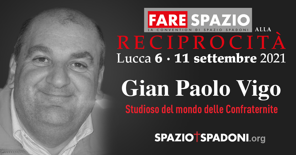 Gian Paolo Vigo Fare Spazio alla Reciprocità