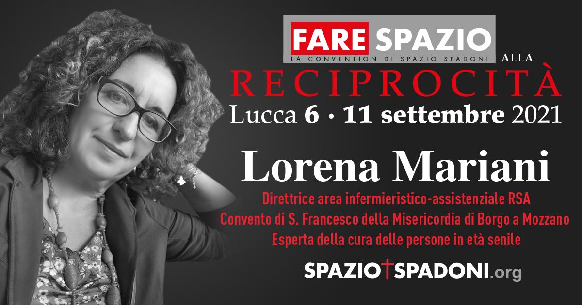 Lorena Mariani Fare Spazio alla Reciprocità