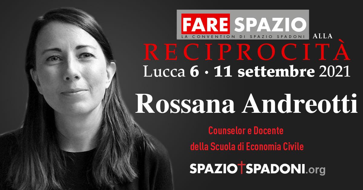Rossana Andreotti Fare Spazio alla Reciprocità