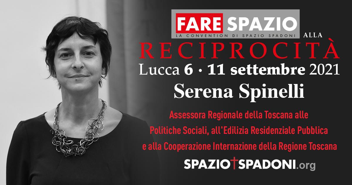Serena Spinelli Fare Spazio alla Reciprocità