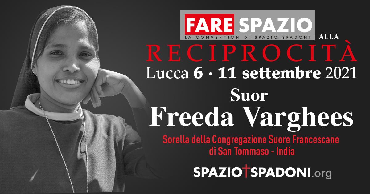 Suor Freeda Varghees Fare Spazio alla Reciprocità