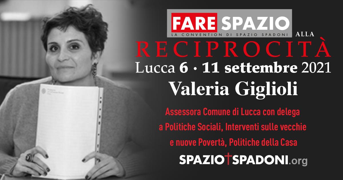 Valeria Giglioli Fare Spazio alla Reciprocità