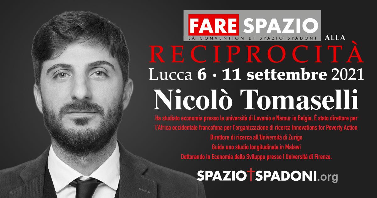 Nicolo Tomaselli Fare Spazio alla Reciprocità